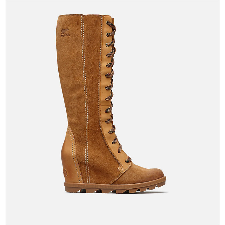ed52d1df5c3 Camel Brown Women s Joan of Arctic™ Wedge II Tall Boot