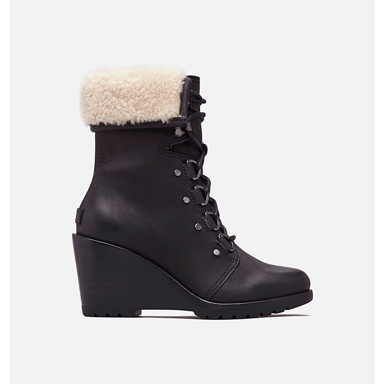 42dce670d9ee Black Women s After Hours™ Lace Shearling Boot