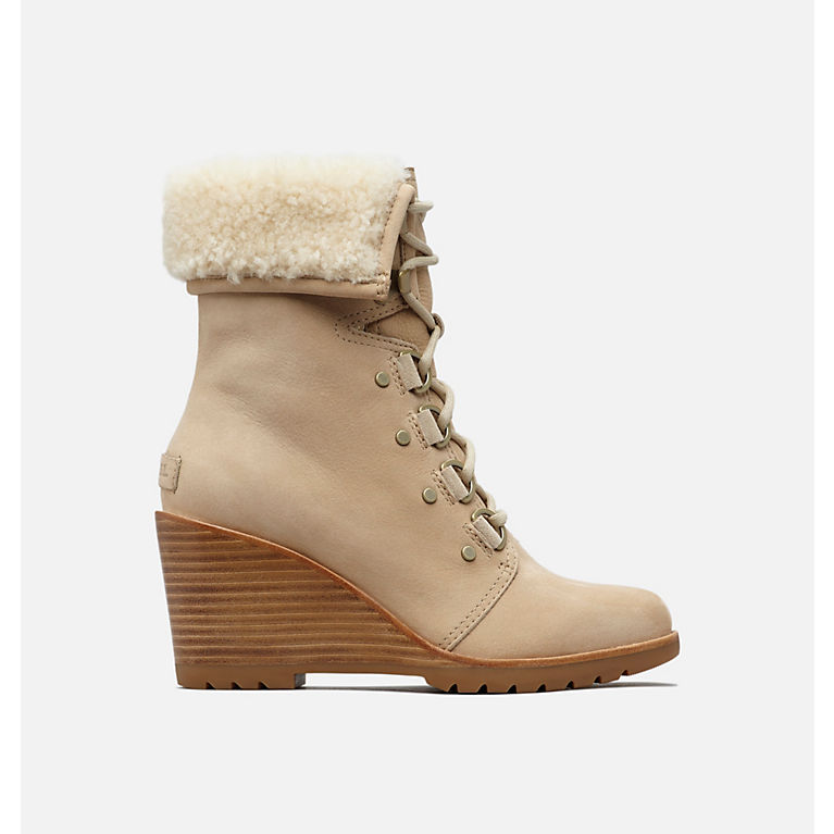 3744a85150 Oatmeal Women's After Hours™ Lace Shearling Boot, View 0
