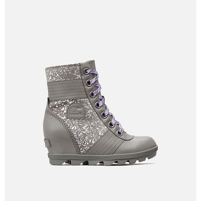 b525a50827c4 Big Kids  Lexie Wedge Boot
