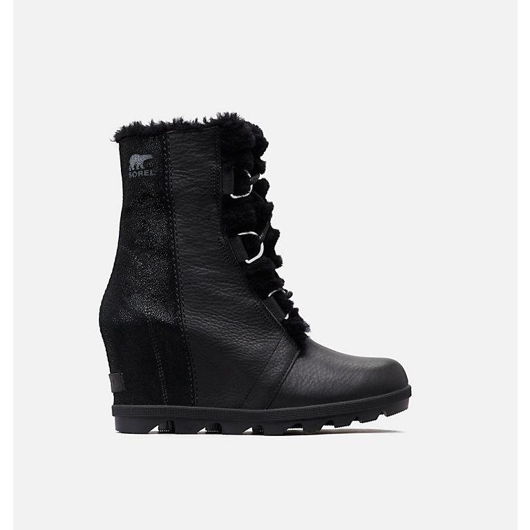 4bd2b2cf665 Black Joan of Arctic™ Wedge II Lux Boot