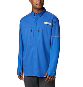 Men's PFG Force XII Zero™ Long Sleeve Hybrid Shirt
