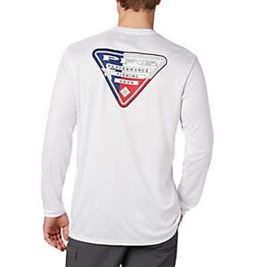 Men's Terminal Tackle PFG Triangle Flag™ Long Sleeve Shirt