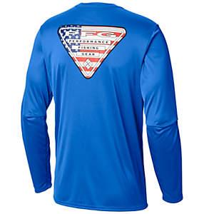 124aeb42114c7c Men's PFG Terminal Tackle™ State Triangle Shirt