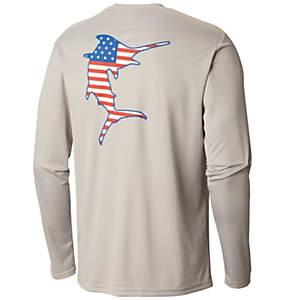 945770478f9 Men's PFG Terminal Tackle Americana Fish™ Long Sleeve Shirt—Big
