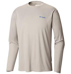 Men's Terminal Tackle PFG Americana Fish™ Long Sleeve Shirt—Tall