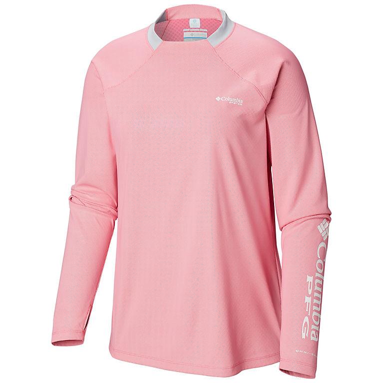 3847ee737 Tropic Pink, Cirrus Grey Women's PFG Tidal Deflector™ Zero Long Sleeve Shirt,  View