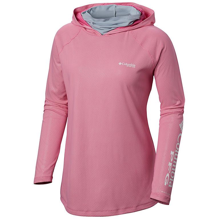 472f72ebc Tropic Pink, Cirrus Grey Women's PFG Tidal Deflector™ Zero Hoodie, ...