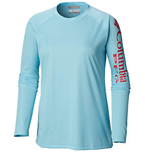 b0842e21 Women's PFG Tidal Tee™ Heather Long Sleeve Shirt