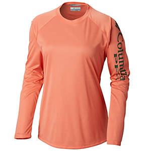 a6c65b67 Women's PFG Tidal Tee™ Heather Long Sleeve Shirt