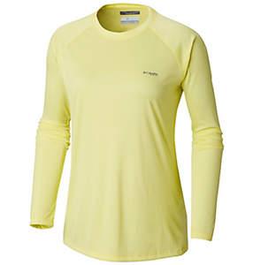 Women's Tidal™ Tee PFG Printed Fish Long Sleeve Shirt - Plus Size