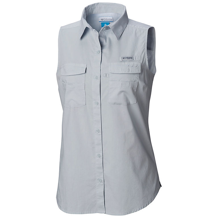 6a574e61232 Cirrus Grey Women's PFG Bonehead™ Sleeveless Shirt, ...