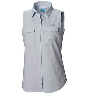 Women's PFG Bonehead™ Sleeveless Shirt - Plus Size