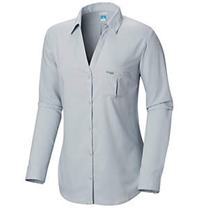 Shirts Columbia Button Sportswear Down Women's FwERTnqEX