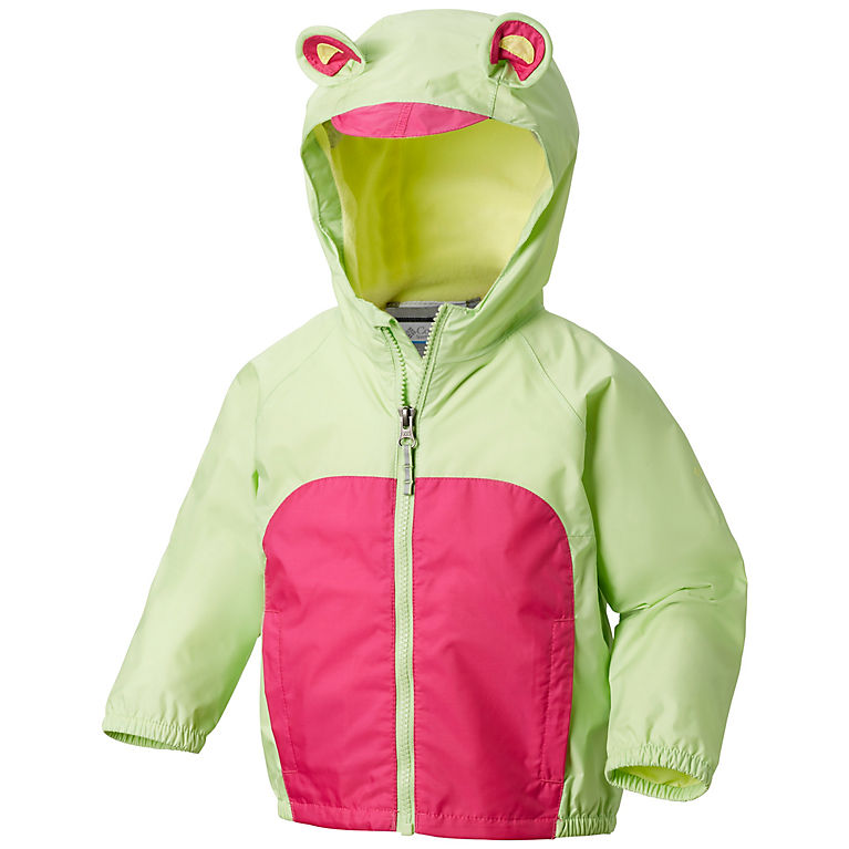 Toddler Kitteribbit Fleece Lined Rain Jacket  d886472a9282