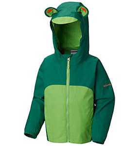 Toddler Kitteribbit™ Fleece Lined Rain Jacket