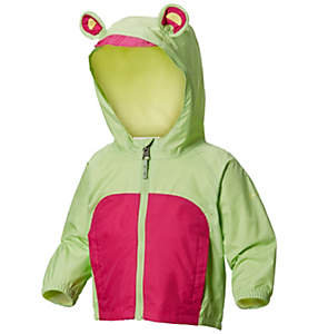 Infant Kitteribbit™ Fleece Lined Rain Jacket