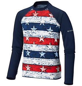 69019a7f8 Kids' Toddler Sandy Shores™ Printed Long Sleeve Sunguard Shirt
