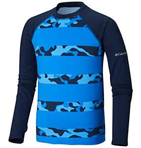 Toddler Sandy Shores™ Printed Long Sleeve Sunguard Shirt