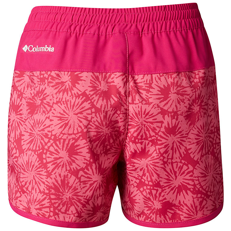 d3fd4ff31e Wild Geranium Bursts Girls' Sandy Shores™ Board Short, ...