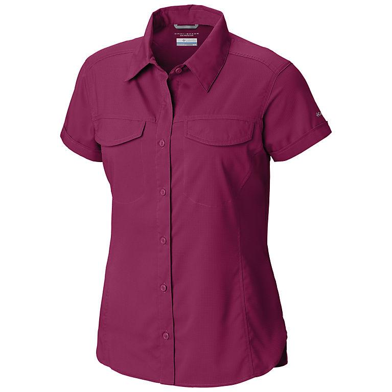 4dbc1473395 Wine Berry Women's Silver Ridge™ Lite Short Sleeve, ...