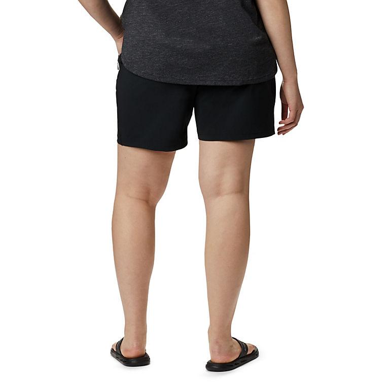 b647dfc601cf Black Women s Bryce Canyon™ Hybrid Short—Plus Size