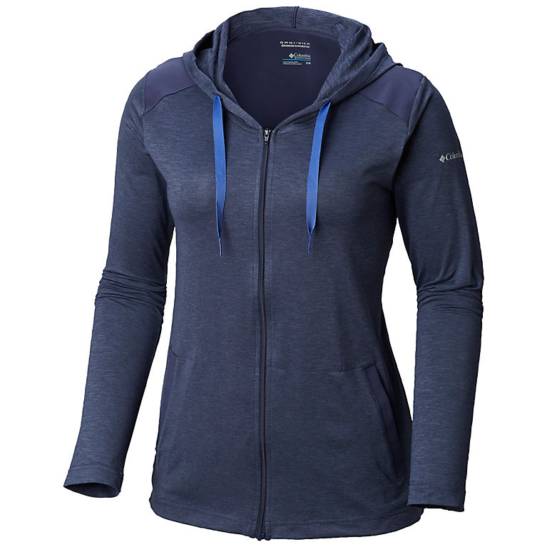 Nocturnal Heather Women s Place To Place™ Full Zip Hoodie 2509238db8
