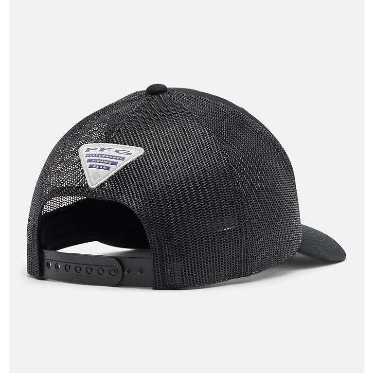 2b13f53b287be Black PFG Mesh Snap Back™ Hooks Ball Cap