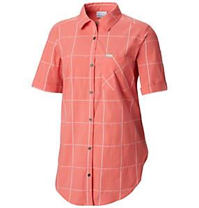 Chemise à manches courtes extensible Anytime Casual™ pour femme
