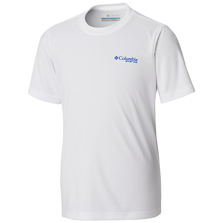 f18d7e0c137 White Marlin Boys' PFG™ Offshore Short Sleeve Shirt, View 1