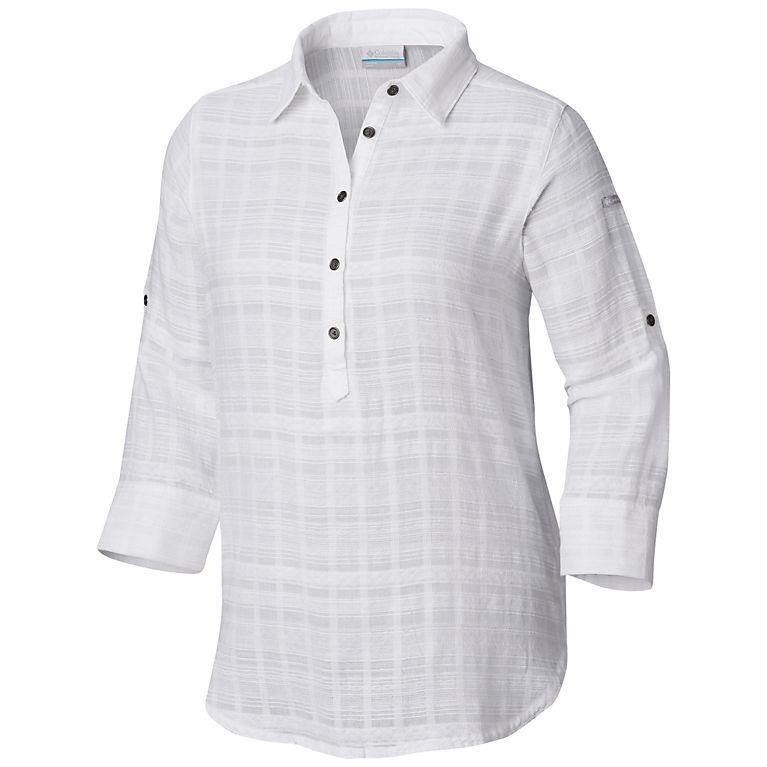 1937432c0310 White Women s Summer Ease™ Popover Tunic