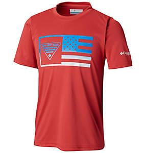 Boys' PFG™Stamp Short Sleeve Shirt