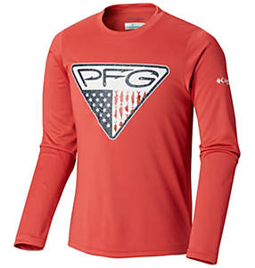 aa8a0251f7c5 Boys' Terminal Tackle™ Triangle Fill Long Sleeve Shirt