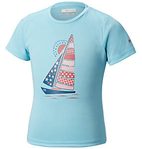 Girls' PFG™Reel Adventure Short Sleeve Shirt