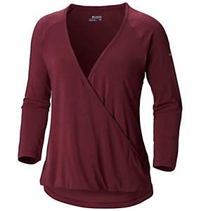 Women's Take It Easy™ Wrap Top - Plus Size