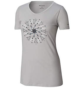 T-shirt Butterfly Wing™ Medallion pour femme — Grandes tailles