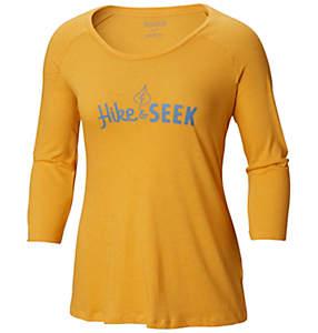 T-shirt à manches 3/4 Weekend Explorer™ pour femme — Grandes tailles