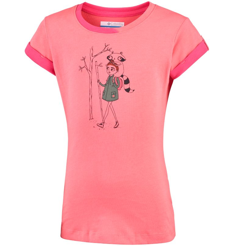 Girl's Lost Trail™ Short Sleeve Tee Shirt Girl's Lost Trail™ Short Sleeve Tee Shirt, front