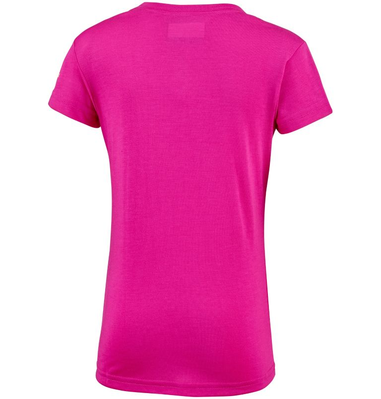 Little Canyon™ Tee   627   S T-shirt Manches Courtes Little Canyon™ Fille, Haute Pink, back
