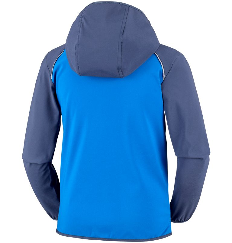Youth Heather Canyon™ Softshell Jacket Youth Heather Canyon™ Softshell Jacket, back
