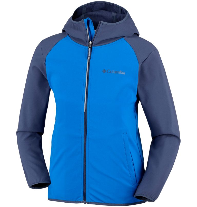 Youth Heather Canyon™ Softshell Jacket Youth Heather Canyon™ Softshell Jacket, front