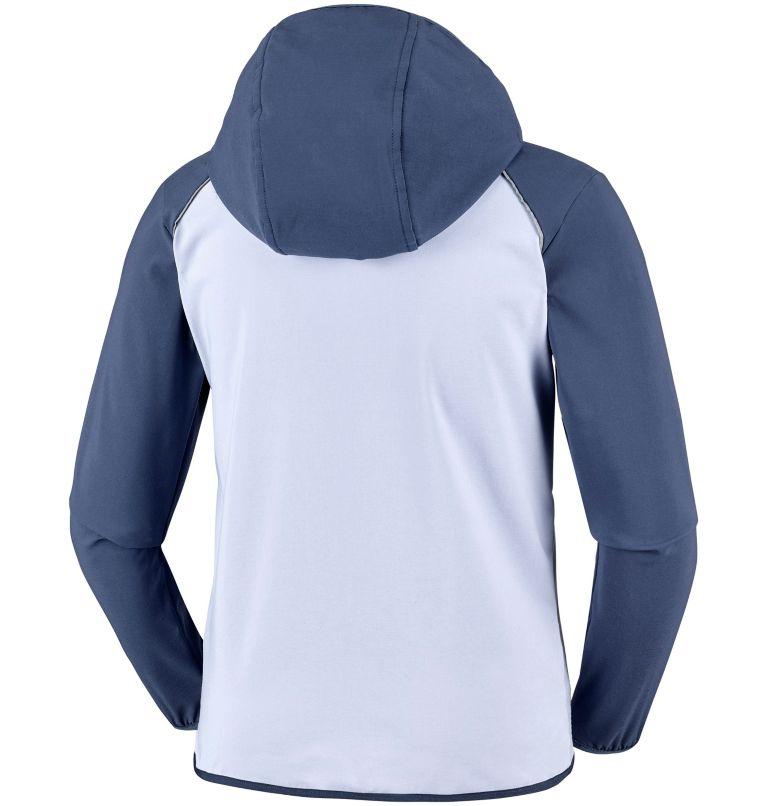 Youth Heather Canyon™ Softshell Jacket Youth Heather Canyon™ Softshell Jacket, back
