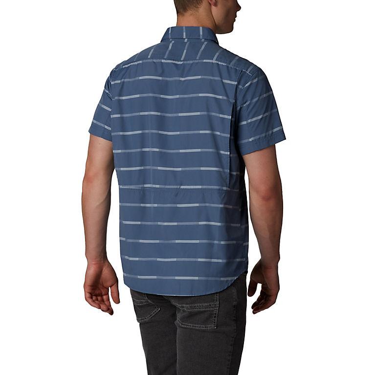 c9bc204195d Mountain Ikat Stripe Men's Silver Ridge™ 2.0 Multi Plaid Short Sleeve Shirt,  ...