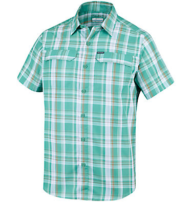 Men's Silver Ridge™ 2.0 Multi Plaid Short Sleeve Shirt , front