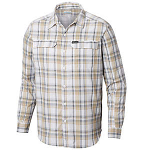 Men's Silver Ridge™ 2.0 Plaid Long Sleeve Shirt—Tall