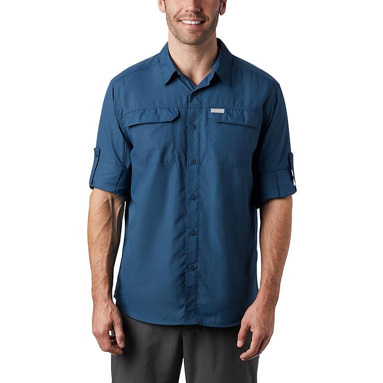 c4907b146ff Petrol Blue Men's Silver Ridge™ 2.0 Long Sleeve Shirt—Tall, View 2