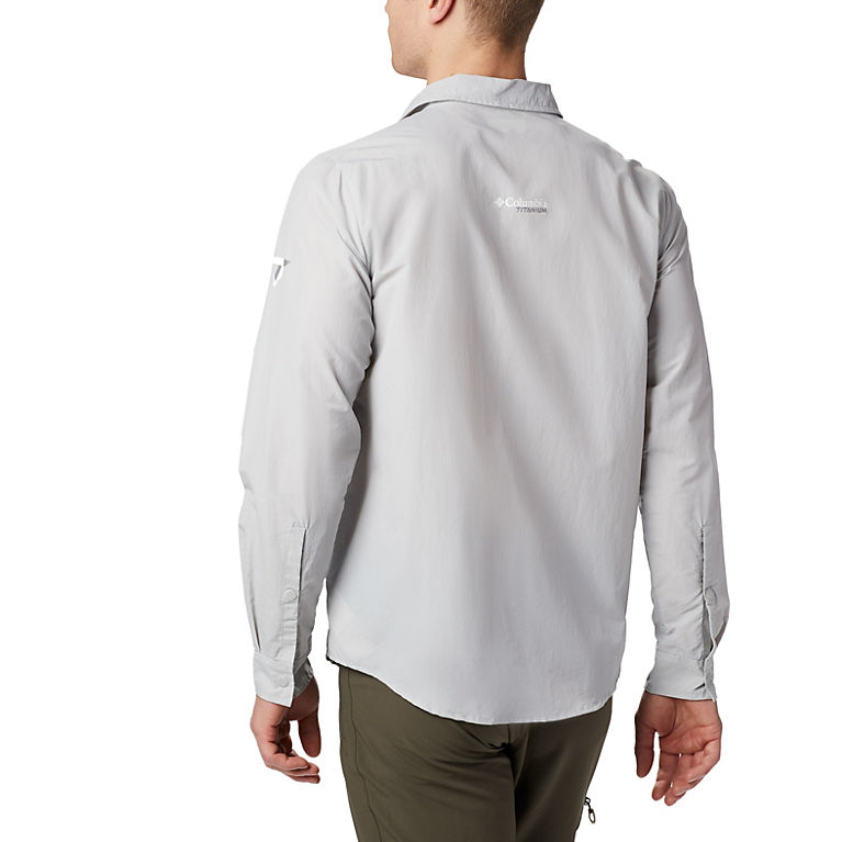 946b3c75edd Cool Grey Men's Featherweight Hike™ II Long Sleeve Shirt, ...