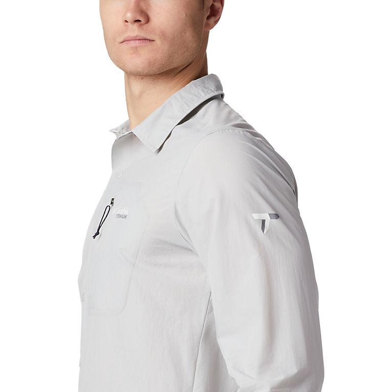 e449daaad852 Cool Grey Men s Featherweight Hike™ II Long Sleeve Shirt
