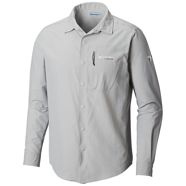 dd98aeccda9 Cool Grey Men s Featherweight Hike™ II Long Sleeve Shirt