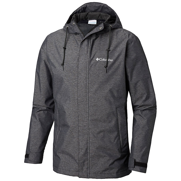 Black Heather Men's Norwalk Mountain™ Jacket—Big, View 0